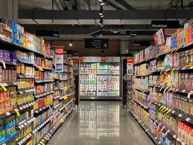 Major Supermarket Chains selling Wine